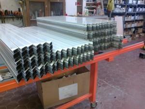 SAPA szerkezetek gyártási előkészítése, műhely